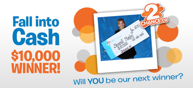 Fall into Cash $10,000 Winner! - Will YOU be our next winner?