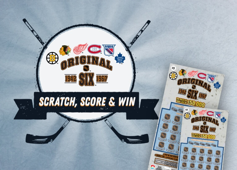 ORIGINAL SIX - SCRATCH, SCORE & WIN